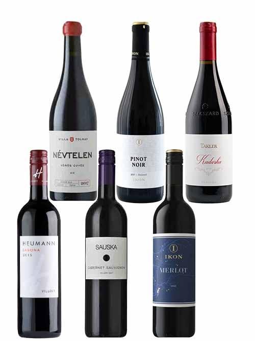Entdeckerpaket Rotwein